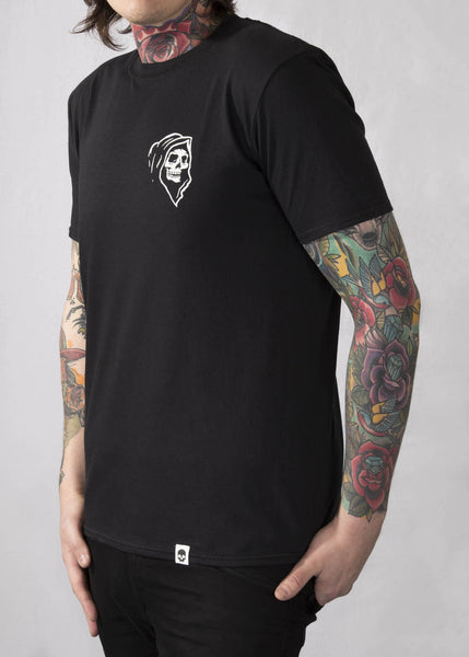 'Reaper' Black Unisex T-Shirt T-Shirts - Ink it out