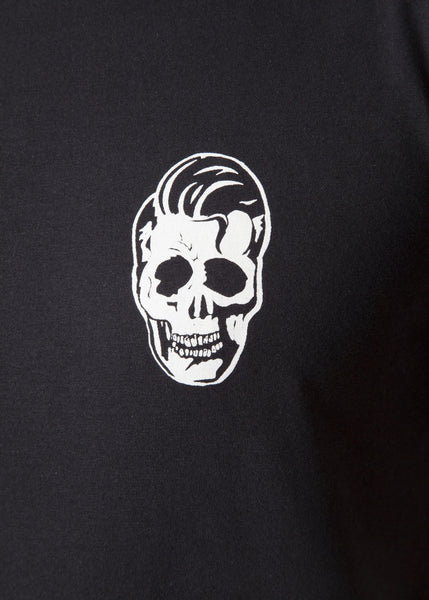 'Greaser' Black Unisex T-Shirt T-Shirts - Ink it out