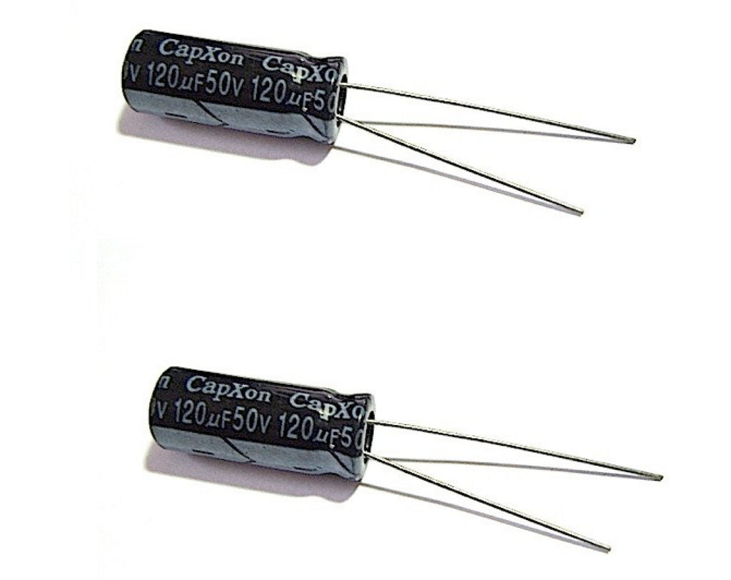 120UF 50V Radial-Electrolytic 105°c (8x20mm) - Spared Parts UK
