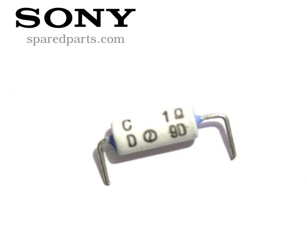 Sony 1.0 Resistor, Non Flamable Fuse 124637311
