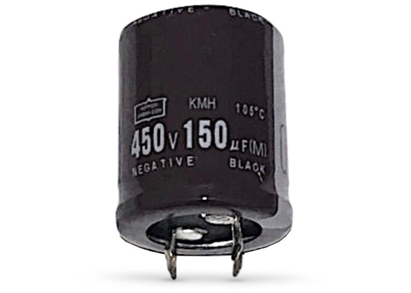 150uF 450V 105C Snap-In Capacitor - Spared Parts UK