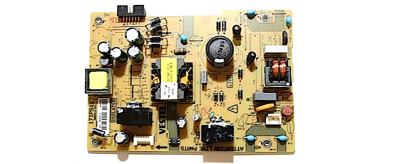 Luxor LUX0132001B/01 17IPS11 Power Board 23125986 - Spared Parts UK