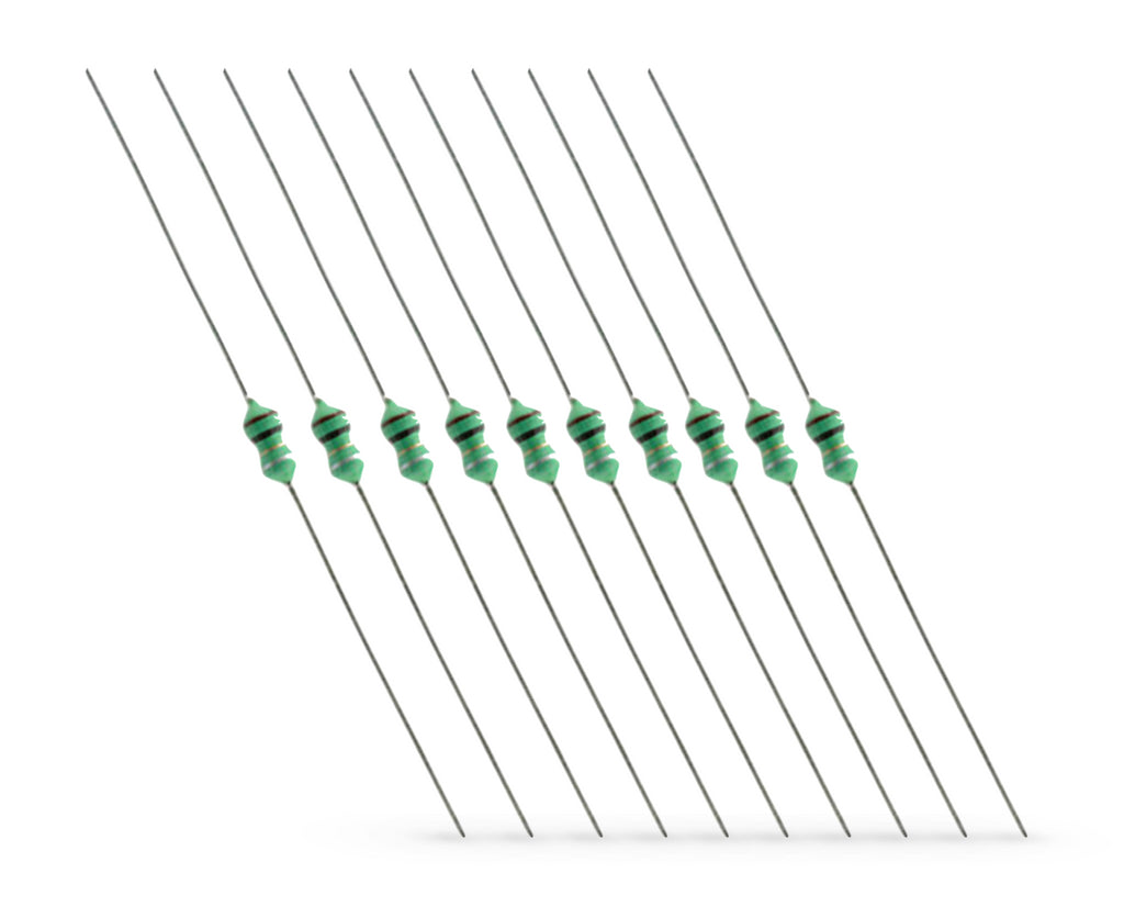 1uH Axial Inductor 1/2W DIP 0401 - Spared Parts UK