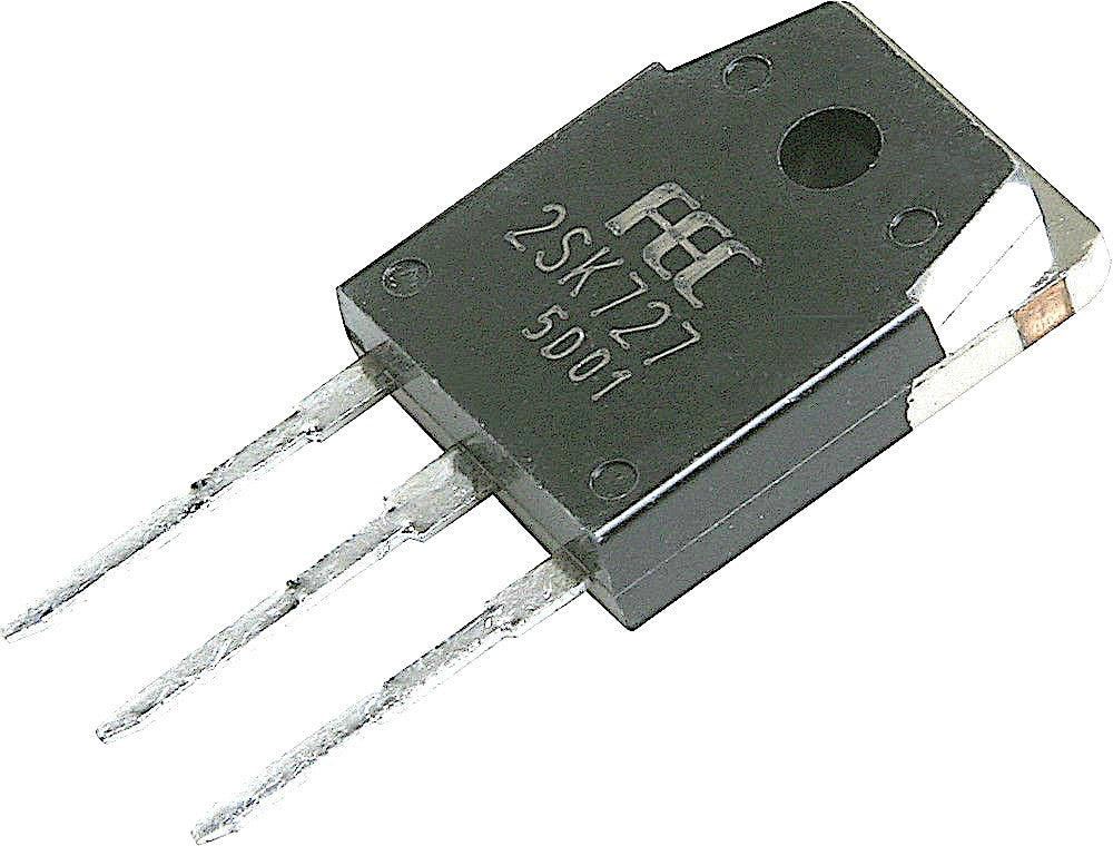2SK727 Transistor N Channel MOSFET TO3P