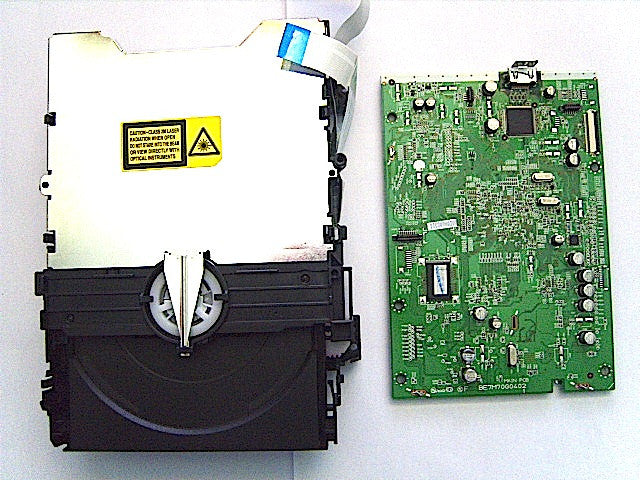 Toshiba RD99DTKTB DVD Mechanism + Main PCB 79104582