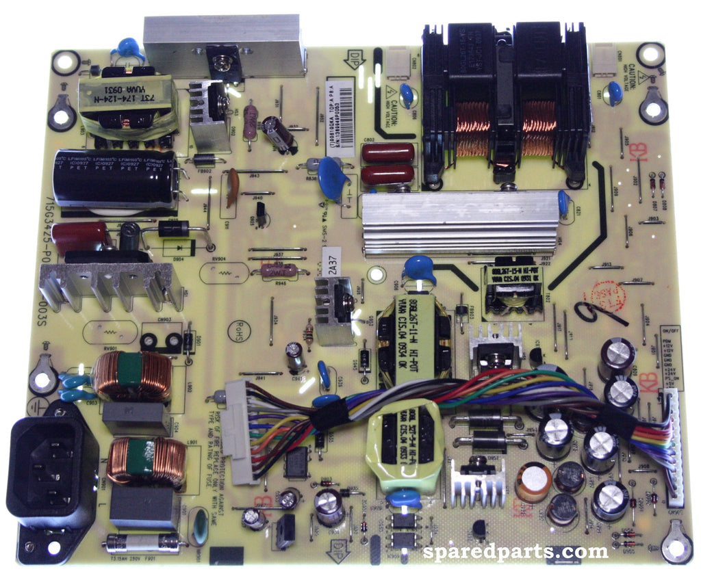ALBA L26M1 Power Board 715G3425-P01-000-0035 - Spared Parts UK