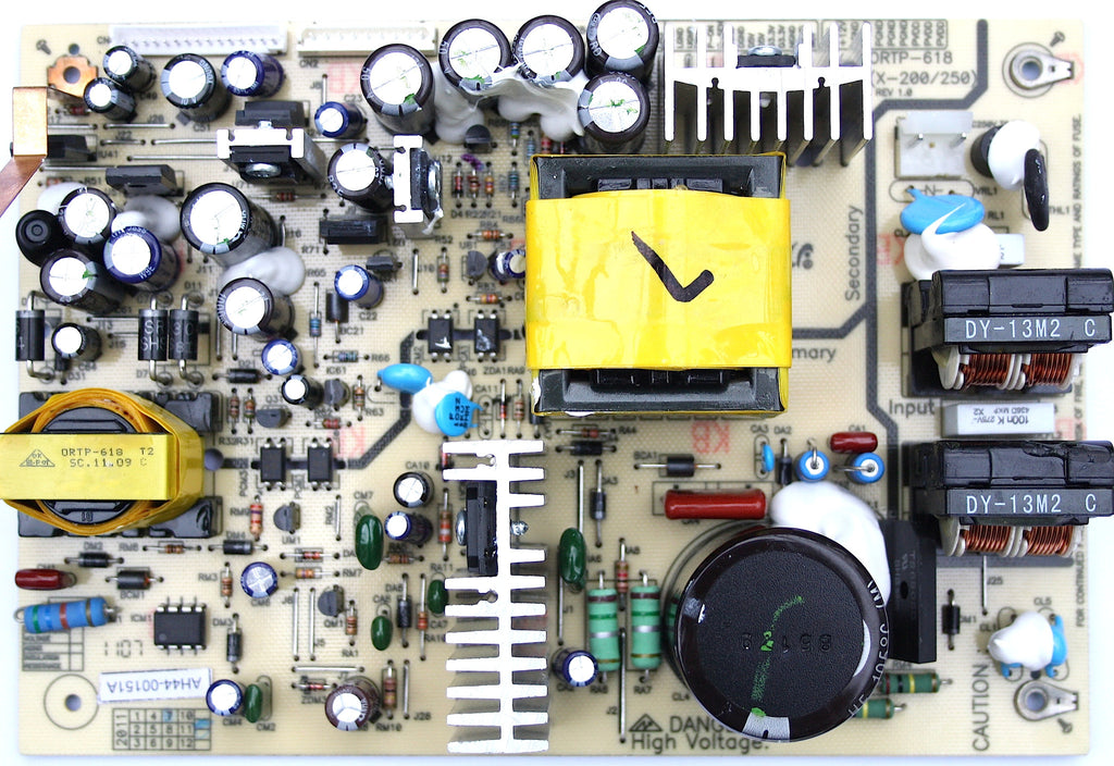 Samsung Power Supply Board AH44-00151A ORTP-618