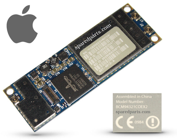 Apple BCM94321COEX2 WiFi Bluetooth Airport Card - Spared Parts UK