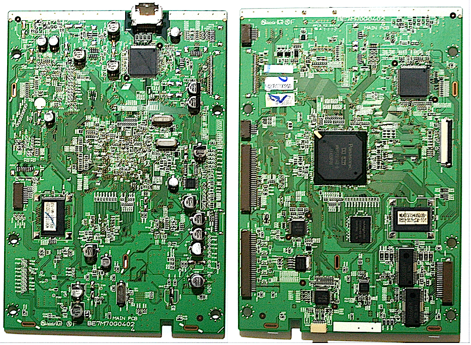 Toshiba DVR20KB DVD Main Board BE7M70G0402