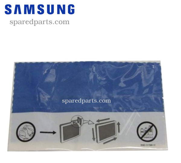 Samsung Blue LCD Cleaning Cloth BN63-01798A