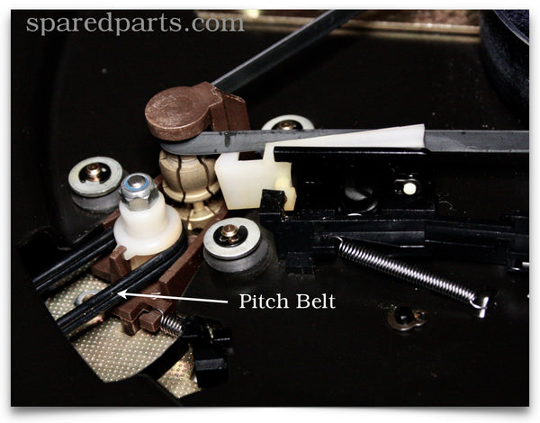 Perform Pitch Belt for Dual Turntables