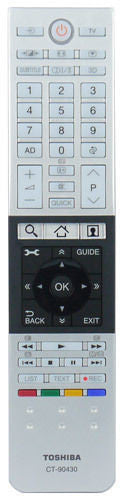 TOSHIBA CT-90430 Original Remote Control 75034819