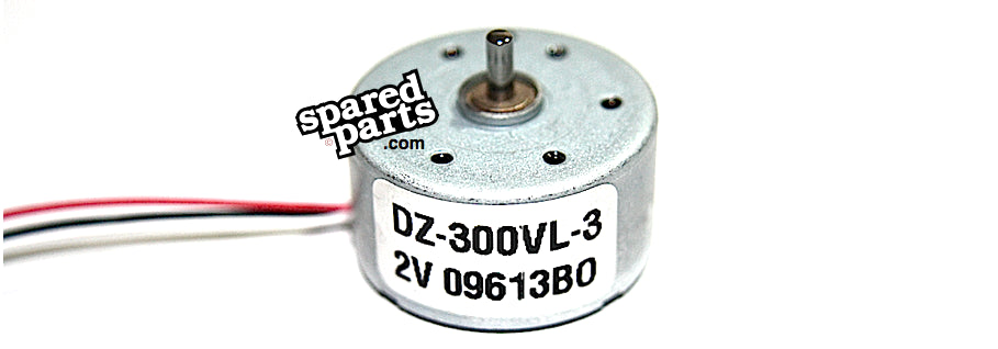 DC 2V Motor DZ-300VL-3 - Spared Parts UK