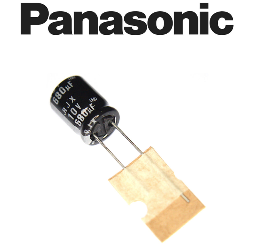 Panasonic Electrolytic Capacitor 680uF 10V (F2A1A681A540)