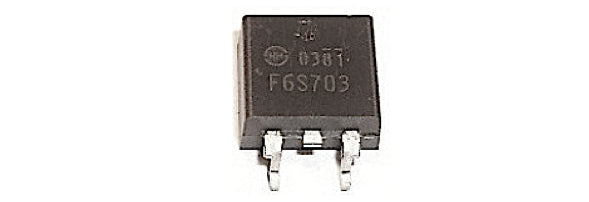 F6S703 Shindengen Mosfet (TO263) F6S703 - Spared Parts UK