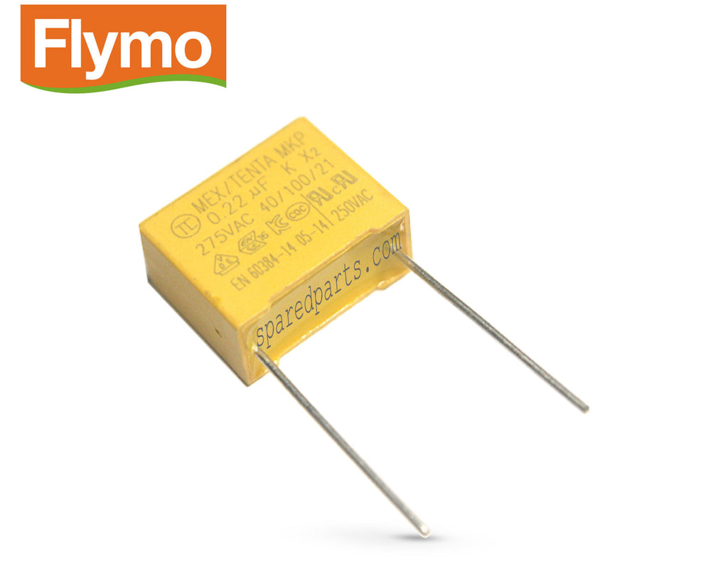 Flymo 0.22uf 220nf 275VAC Capacitor