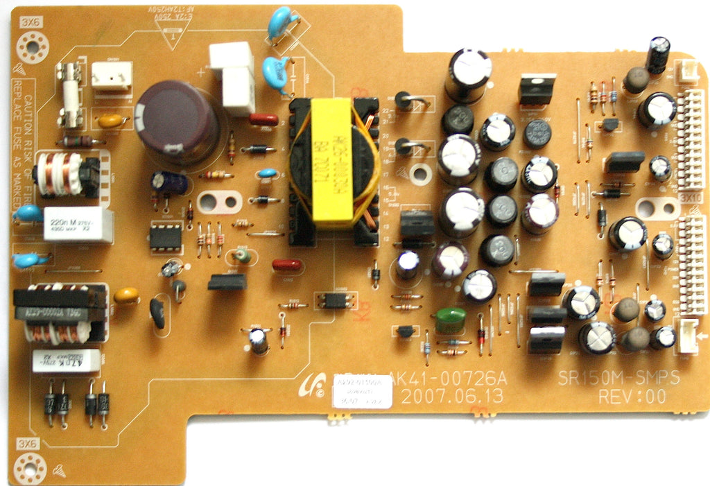 Samsung Power Board DVDSR150 (AK92-01500A) AK41-00726A