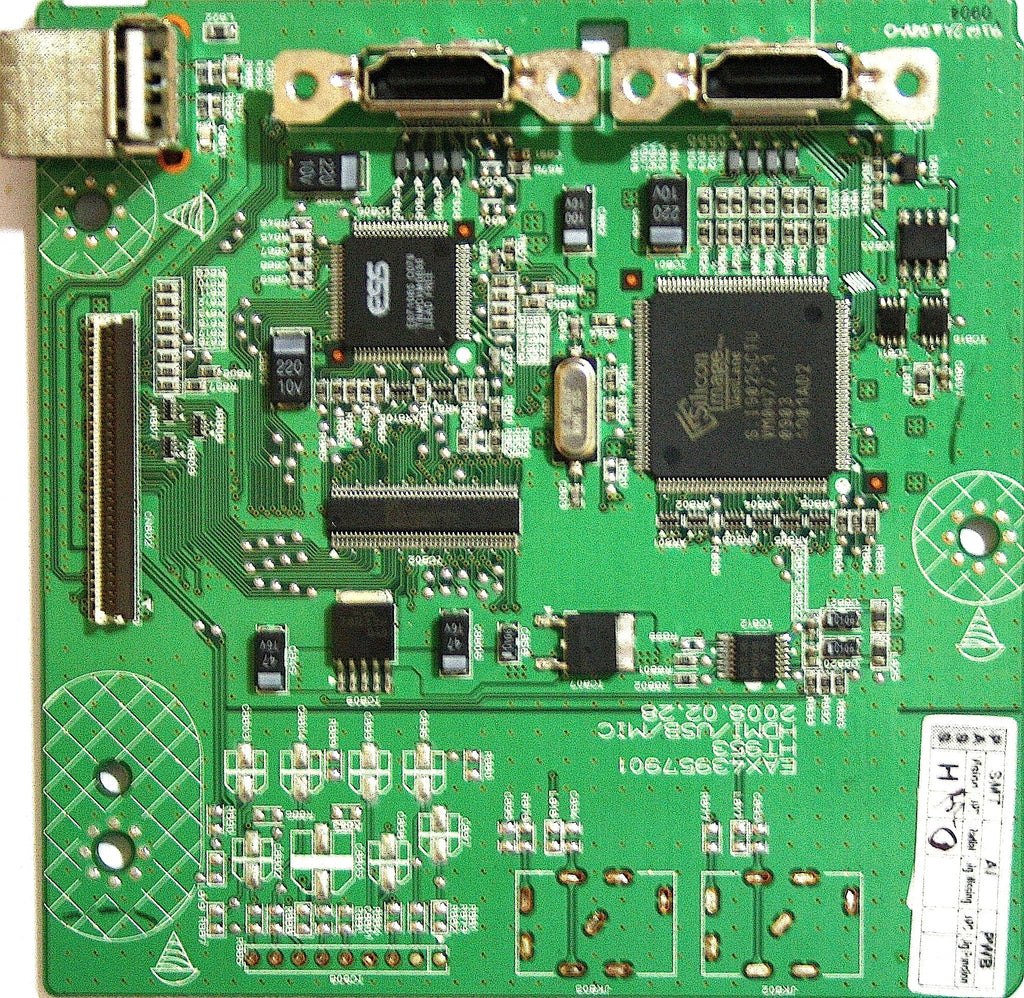 LG HT953TV-DP HDMI / USB PCB EAX43957901 AFP33840702 - Spared Parts UK