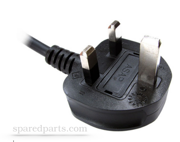 LCD TV Right Angle Cloverleaf Power Cord