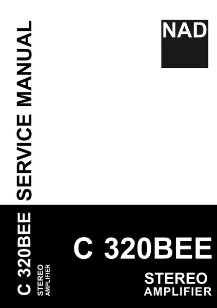NAD C320BEE Service Manual Complete