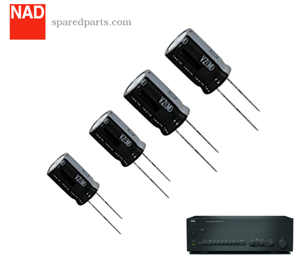 NAD C 370 Protection Circuit Capacitor Kit C-370