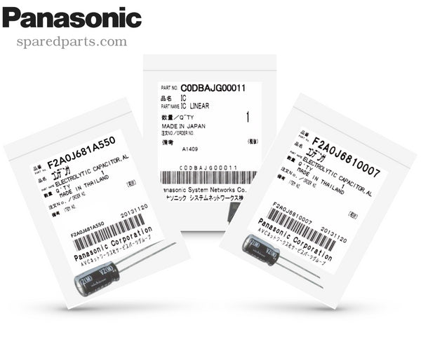 Panasonic U80 and U81 Repair Kit