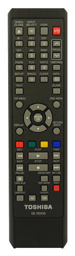 Toshiba DR19DTKTB Remote Control SE-R0339 79104572