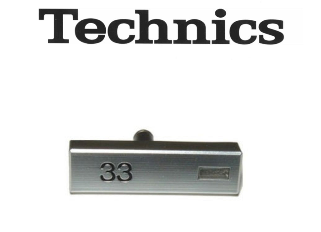 Technics 33 Speed Select Button SL-1200 SL-1210 SFKT015-01E SFKT015-011E