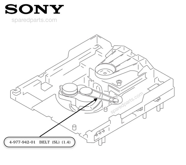 Sony Belt (SL) (1.4) 497794201, 4-977-942-01