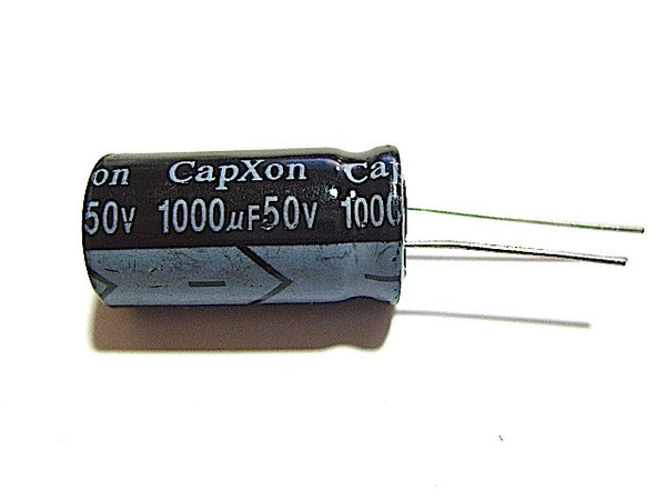 1000UF 50V Radial-Electrolytic 105-Degree (16x31mm) - Spared Parts UK