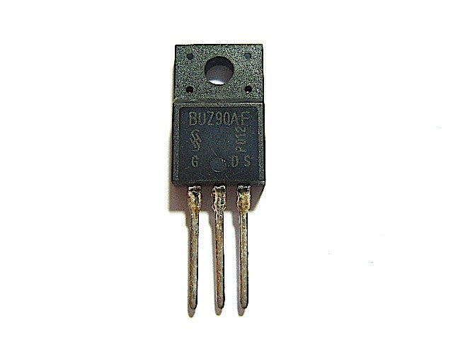 BUZ90AF Semiconductor Transistor TO-220F - Spared Parts UK