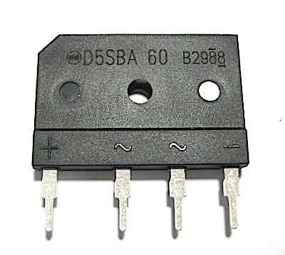 Bridge Rectifier Diode Sony D5SBA60F01 (871908257) - Spared Parts UK