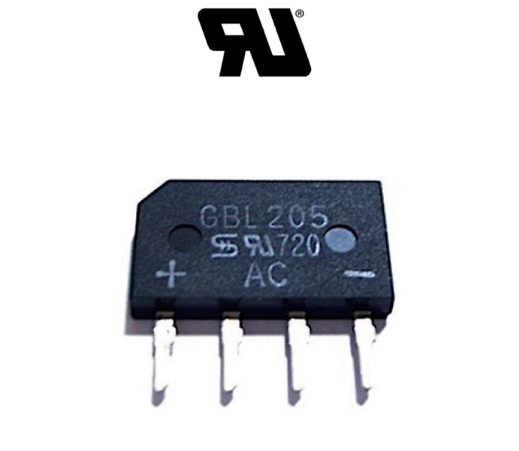 GBL205 Bridge Rectifier Diode - Spared Parts UK