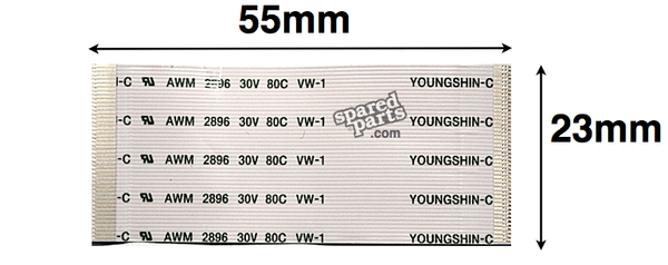 Youngshin 45 PIN FFC 55 x 23mm AWM 2896 30V 80C VW-1