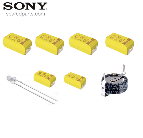 Sony ICF-SW1 Capacitor Repair Kit (Tantalum)