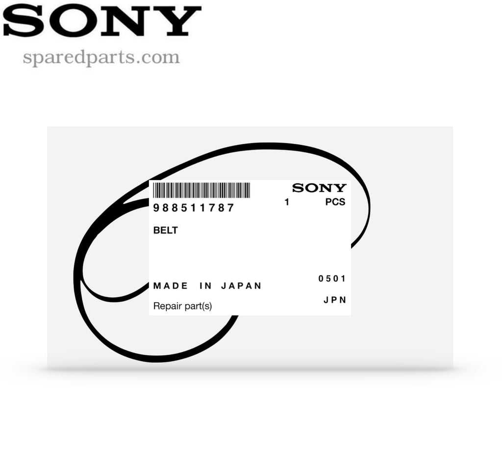 Sony Turntable Drive Belt 9