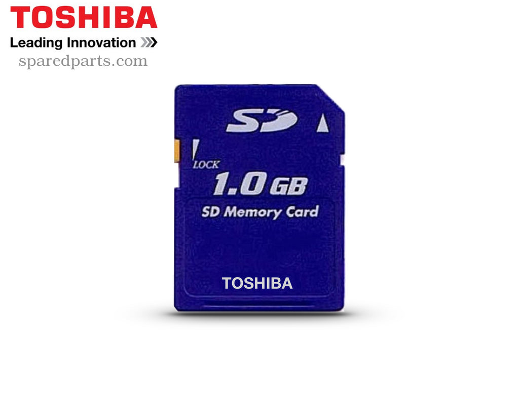 Toshiba 1GB SD Card SD-M01G