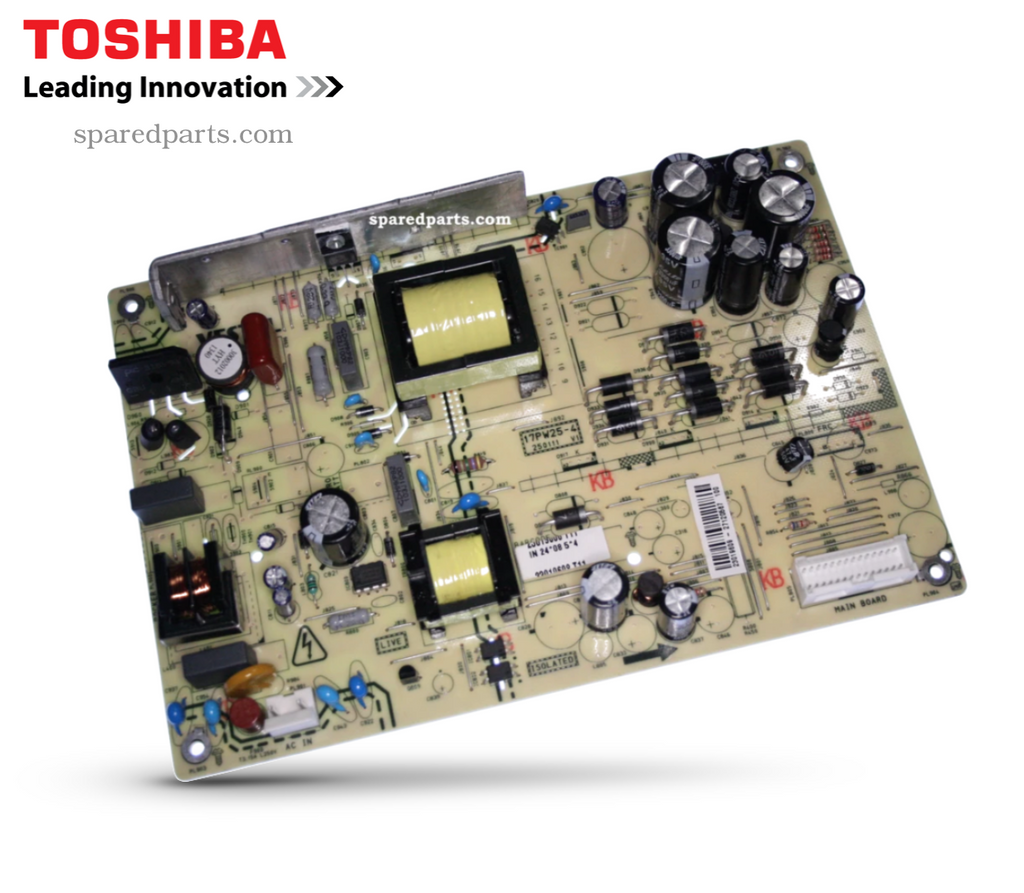 Toshiba 17PW25-4 Power Board 23019609