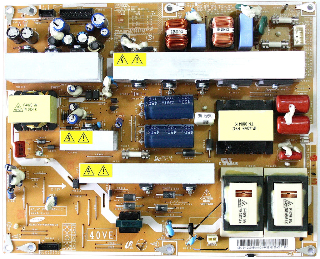 Samsung IP Power Board Assembly BN44-00199A