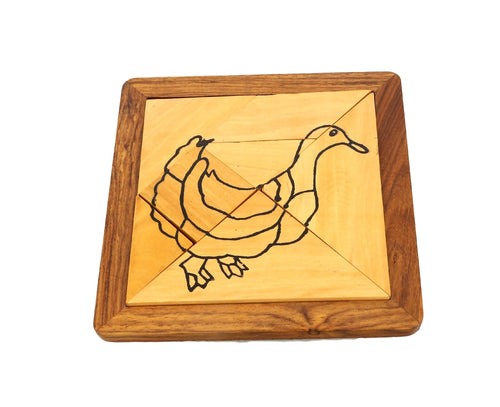 Wholesale Products Corporate gifts for men and women 100 units of Duck Tangram Puzzle
