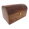 ShalinIndia Handcrafted Wooden Jewelry Keepsake Box with Lid Storage Chest Vintage Look Size 18x10x9 Cm(SB_WC_067)