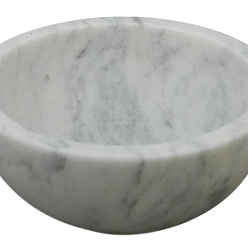 Shalinindia Handmade Lady Purple White Marble Serving Bowl,4 Inch,430 Grams