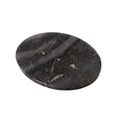 Shalinindia Handmade Ocean Grey Marble Soap Dishoval Soap Dishes 5 X 4 X .5 Inch - Artisan Crafted In India