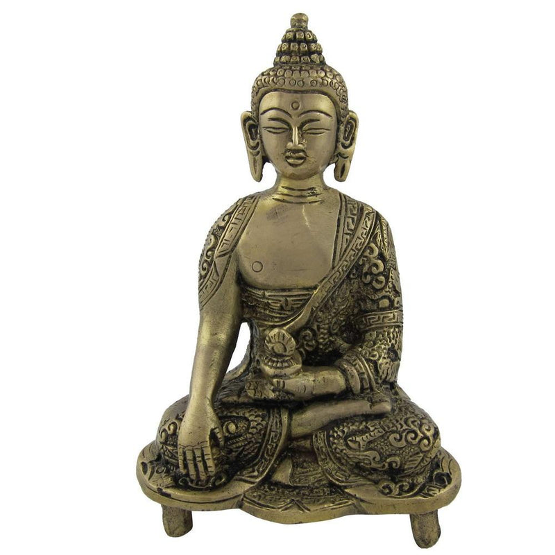 Lord Buddha Statue Brass Figurines