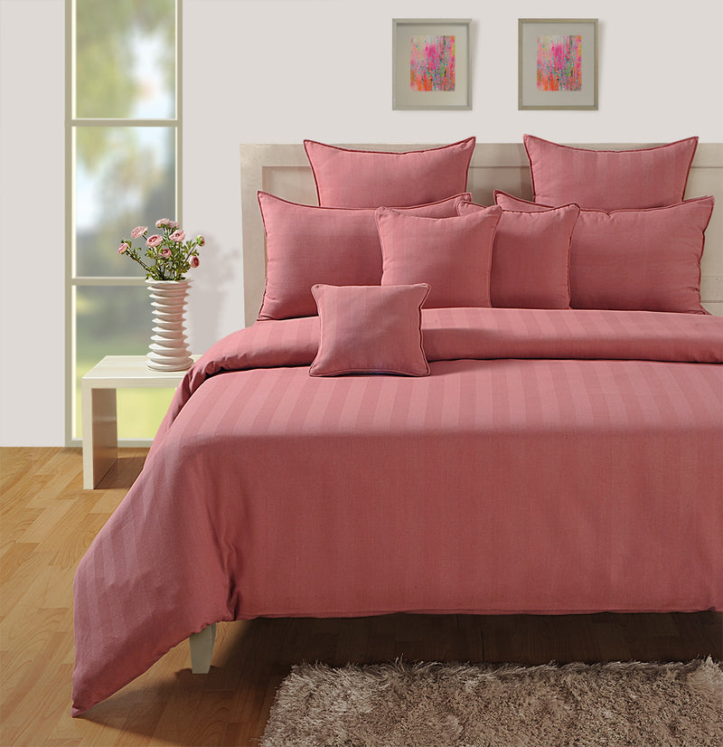 ShalinIndia Bedroom Decoration Bedding Set of Duvet Cover Pillowcase Shams Cushion Cover for Queen Bed