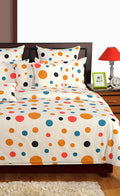 ShalinInida Bedroom Decoration Bedding Set of Duvet Cover Pillowcase Shams Cushion Cover for Twin Bed - Gems Polka