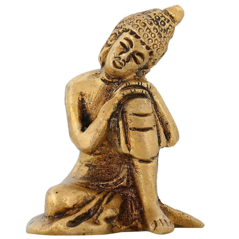 Buddhism Home Decoration Thinking Buddha Figurine Hinduism Religious Gifts 2 inch