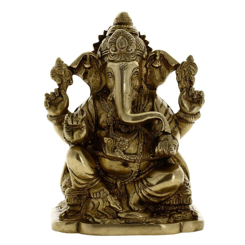 ShalinIndia Decor Ganesha Sculpture Sitting Posture