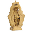 Religious Decor Ganesha Idols Hindu God Diwali Puja Brass 4.5x X 1.75 Inches 455 Grams