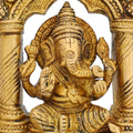 Religious Gifts Home Décor Hindu Statue Ganesha Sitting for Puja Mandir At Home Size 6 Inches